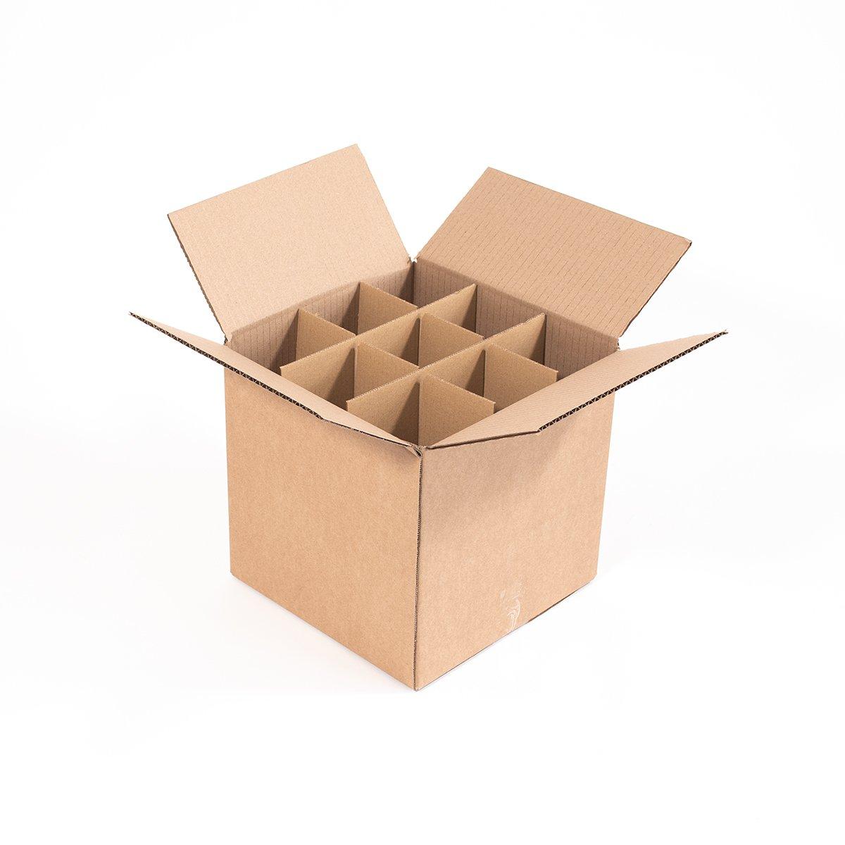 carton sp cial fl tes champagne 25x25x25cm. Black Bedroom Furniture Sets. Home Design Ideas