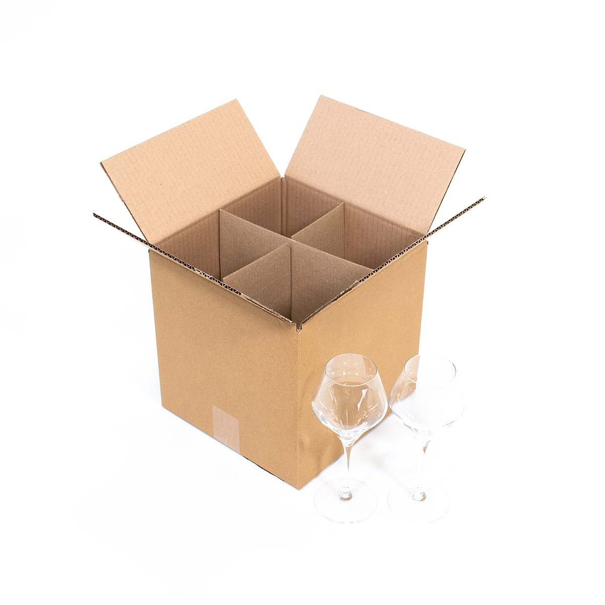 carton grands verres 25x25x25cm carton market. Black Bedroom Furniture Sets. Home Design Ideas
