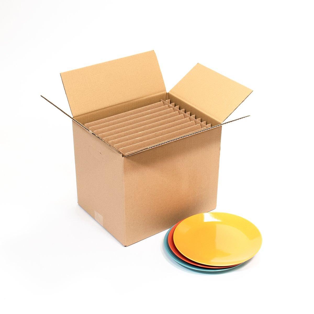 carton 12 assiettes 35x27 5x33cm carton market. Black Bedroom Furniture Sets. Home Design Ideas