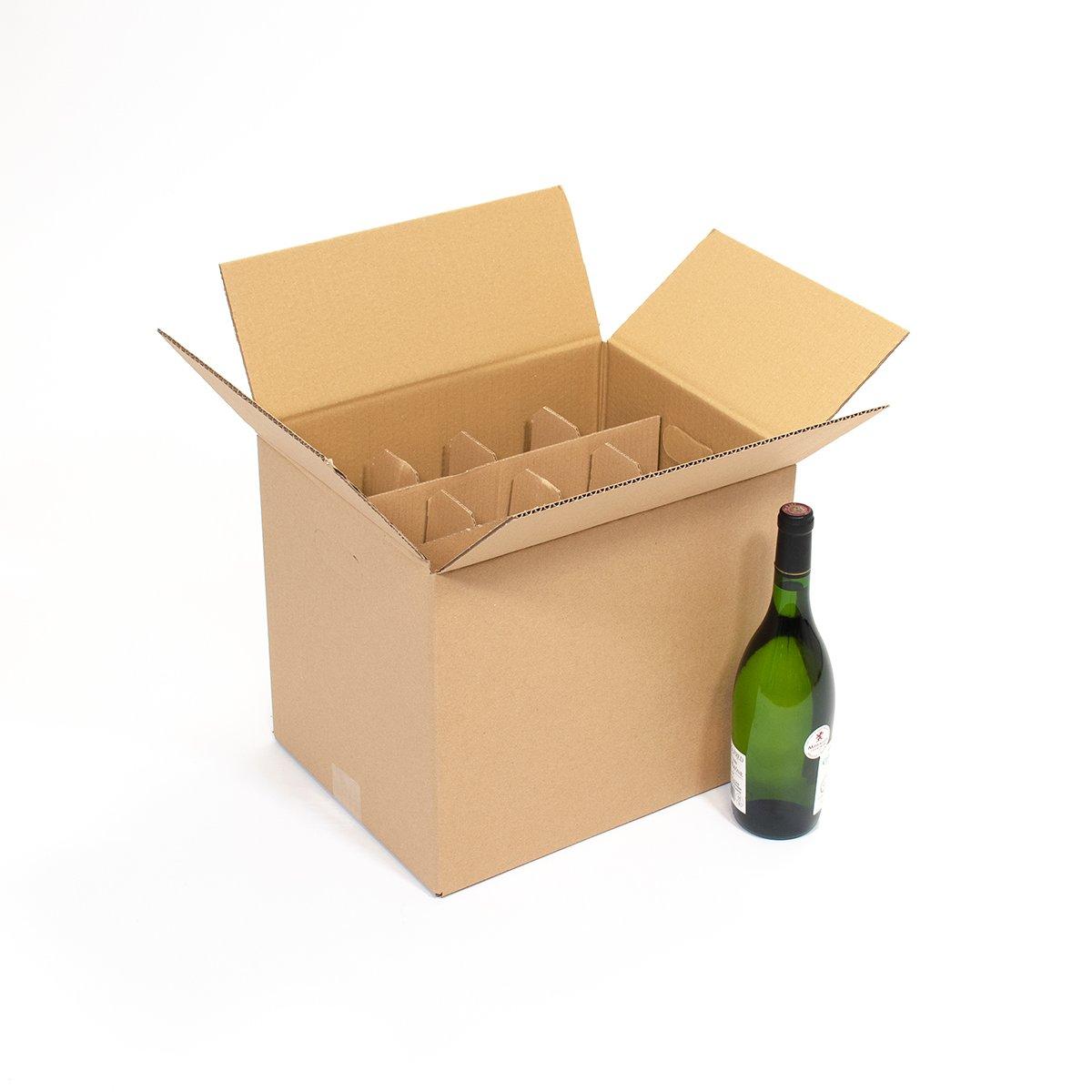 carton 12 bouteilles 35x27 5x33cm carton market. Black Bedroom Furniture Sets. Home Design Ideas