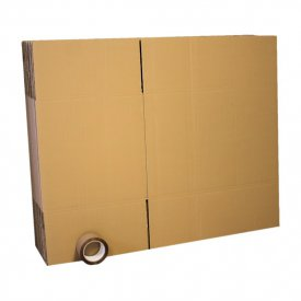 Pack 10 cartons 60x40x40 DC