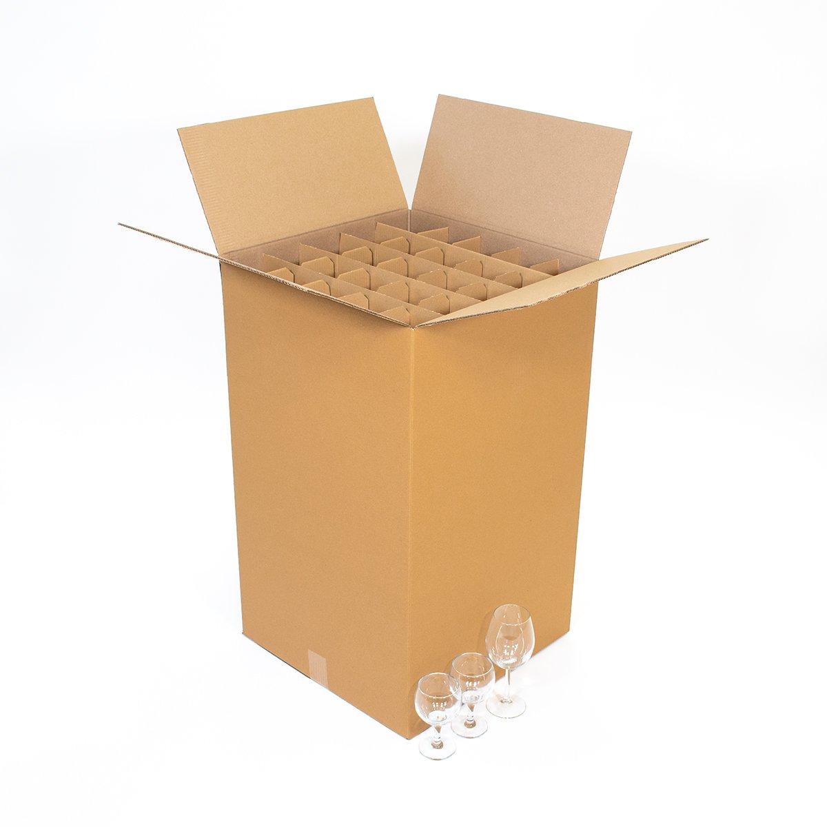 Carton 100 Verres 45x45x75cm Carton Market